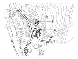 Kia Cee Alternator Repair Procedures Charging System