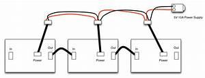 wiring the displays 16x32 rgb display with raspberry pi With wiring pi raspberry