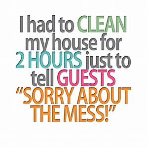 Quotes About Cl... Funny Household Quotes