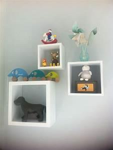 Étagères gigognes chambre bébé vintage déco mixte Chambre d'enfant Pinterest