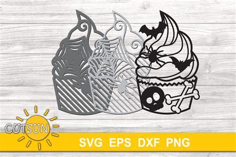 3d mandala svg layered mandala flower svg png dxf eps 574333. 3D Layered Halloween Cupcake Mandala SVG cut file 3 layers ...