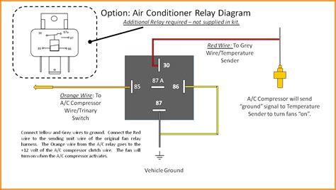 air handler fan relay wiring diagram free wiring diagram