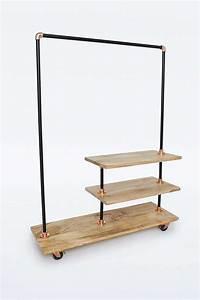 Kleiderständer Aus Holz : kleiderst nder aus eisen und holz good idea gute idee ~ Michelbontemps.com Haus und Dekorationen