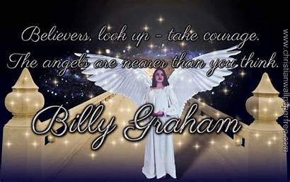 Billy Graham Angels Quote Mb Christian Px