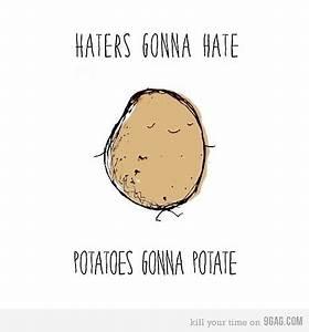 funny, haters, lol, potato, random - image #319582 on ...