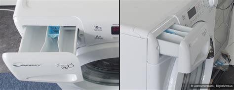 consommation d eau d un lave linge gv 1510 d2 test complet lave linge les num 233 riques