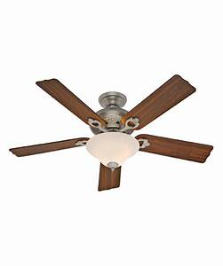 Hunter fan auberge inch ceiling with light