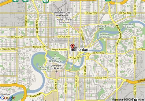 map  days inn edmonton edmonton