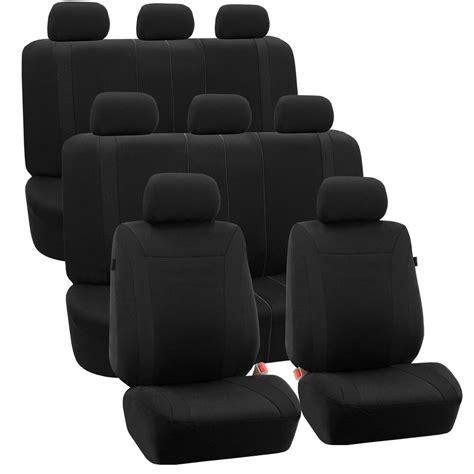 3 Seat Covers by 3 Row Car Auto Seat Covers For Auto Vehicle Sedan Suv