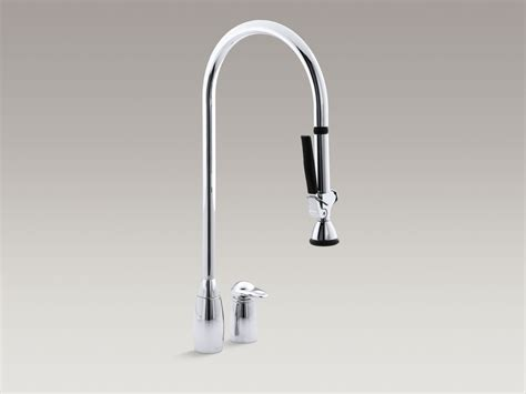kohler kitchen sinks faucets kohler kitchen faucets pull out spray 6695