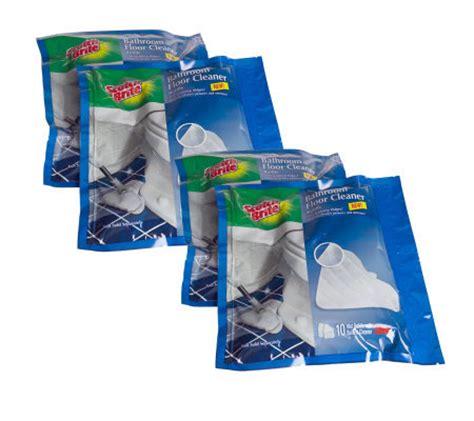 Scotchbrite Bathroom Floor Cleaner 40 Wet Cloth Refills