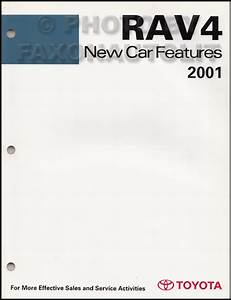 2001 Toyota Rav4 Electric Vehicle Wiring Diagram Manual