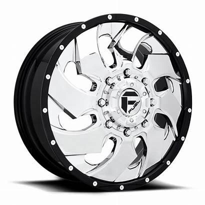 Wheels Dually Cleaver D240 Fuel Chrome Rims