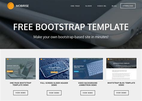 bootstrap template awwwards nominee
