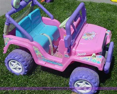 power wheels jeep 90s power wheels barbie jeep my babies favorite toys
