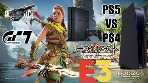 Horizon Forbidden West PS4 VS PS5   Elden Ring E3   New ...