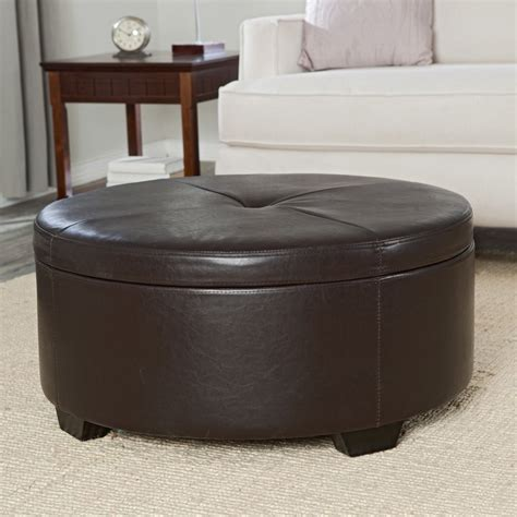 round ottoman coffee table coffee tables ideas excellent large round ottoman coffee