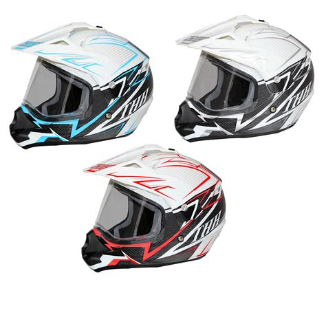 thh motocross helmet thh tx 13 1 dual sport motocross helmet motocross
