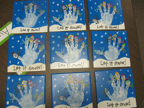 Handprints I Made For The Parents In My Preschool Class As