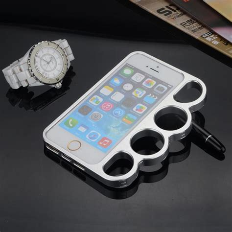 iphone 6 plus cool cases cool portable finger rings metal knuckle frame for
