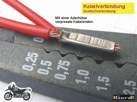 Kabel Verlegen Diese Methoden Gibt Es by Kabel Verbinden L 246 Ten Oder Pressen