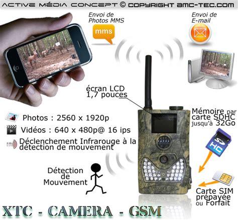 surveillance gsm exterieur xtc gsm 233 ra et e mail waterproof infrarouge autonome 5 m 233 gapixels avec d 233 tection