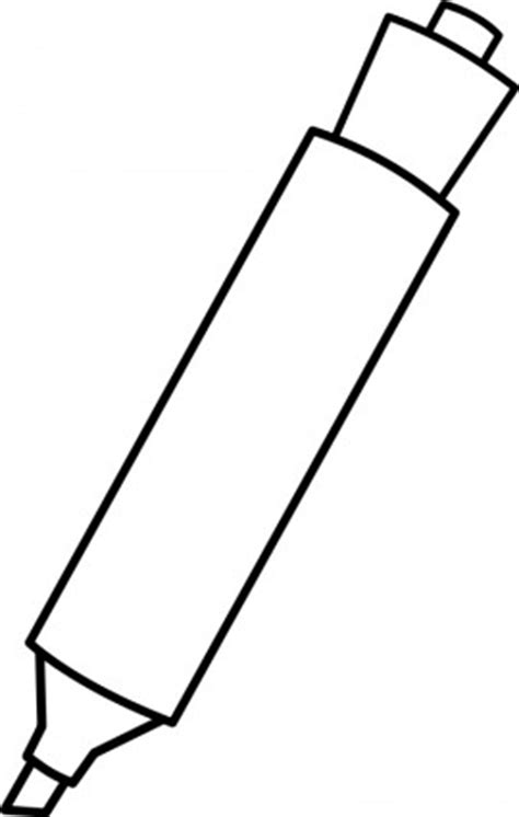 marker clipart black and white marker black and white clipart clipart suggest