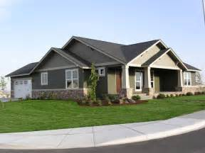 Single Story Craftsman Style Homes Inspiration by Mascord Top 10 Single Story Home Plans