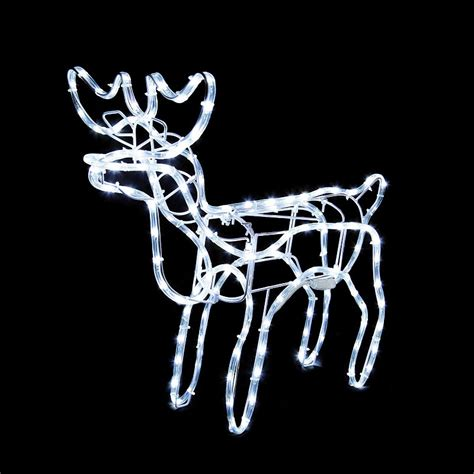 tis  season animated lighted reindeer family led