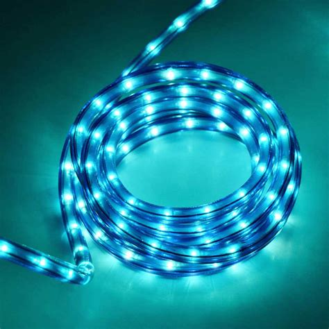 18 rope tube light 3 8 quot diameter blue ropelights