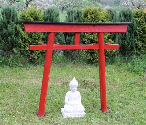 Japanisches Tor Bausatz by Asia Factory Torii 03 Japan Garten Holzbogen