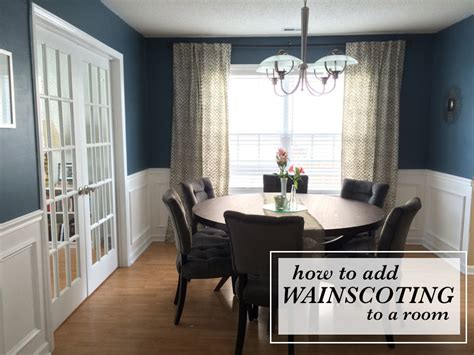 How To Install Wainscoting In Dining Room by How To Install Wainscoting