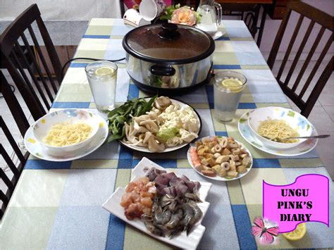 Steamboat Homemade by Ungu Pink S Diary Homemade Steamboat