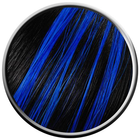 Electric Blue Hair Highlights Color