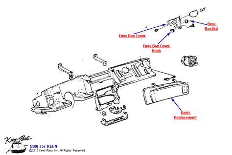 1985 Corvette Fuse Box Diagram by 79 Corvette Fuse Box Diagram 1980 C3 Corvette Fuse Box