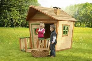 Jeux Exterieur Bois Enfant : maisonnette bois enfant jesse ~ Premium-room.com Idées de Décoration