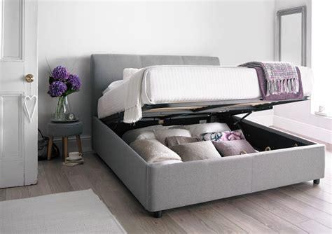 black leather platform bed serenity upholstered ottoman storage bed cool grey
