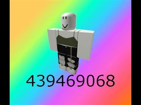 Cute Roblox Clothes Codes