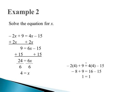 Solving Multistep Equations  Ppt Video Online Download