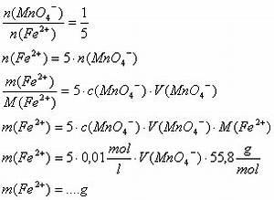 Massenanteil Berechnen : chemie titrationen ~ Themetempest.com Abrechnung