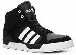 Black and White High Top Sneakers: adidas Neo Raleigh High ...