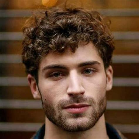 curly hairstyles  men  style  curls men