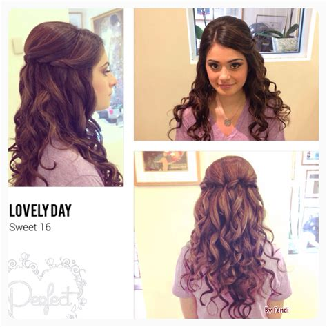 Sweet 16 Hairstyles For Hair by Sweet 16 Hairstyle Sweet 16 Ideas Sweet