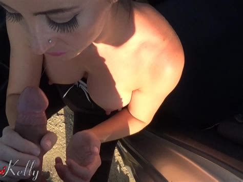 Amateur Outdoor Blowjob And Cum On Her Yoga Pants Free