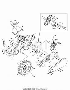 Mtd 21aa45m5031  2010  Parts Diagram For Drive System