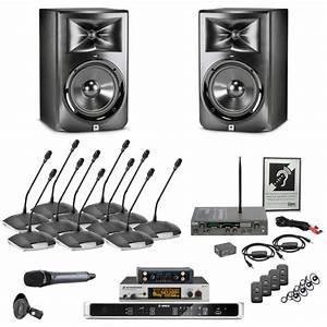 Elite Conference Room Sound System With Jbl Lsr308