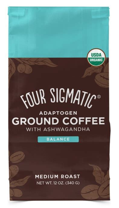 See all four sigmatic products. Four Sigmatic Ashwagandha & Chaba Adaptogen Ground Coffee Mix 340 g   Fitness007.cz