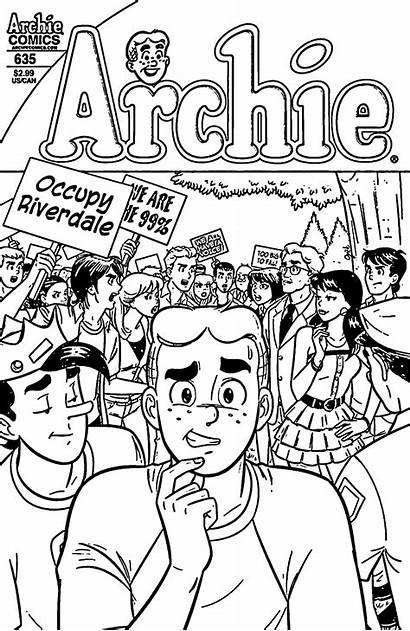 Coloring Archie Comics Riverdale Sheets Wecoloring Jawar