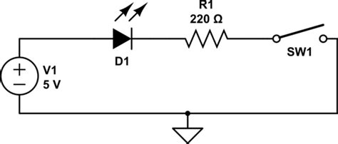 Voltage Drop Across Led Open Circuit Electrical