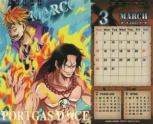 CalendáriodeMesaOnePieceCross2015Março One Piece